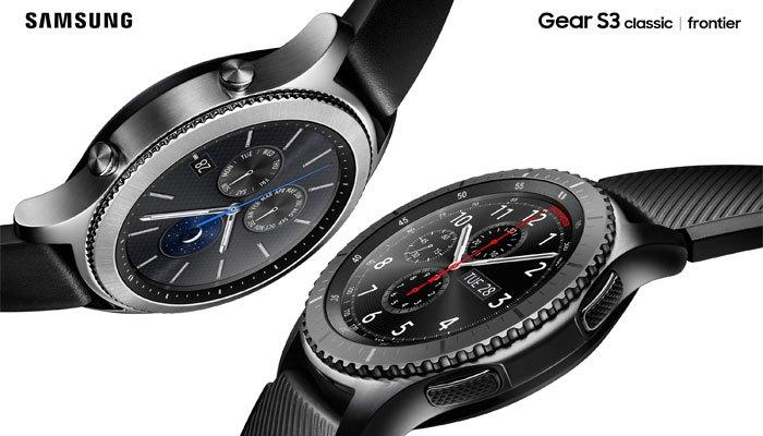 Đồng hồ Gear S3 có hai phiên bản classic và frontier