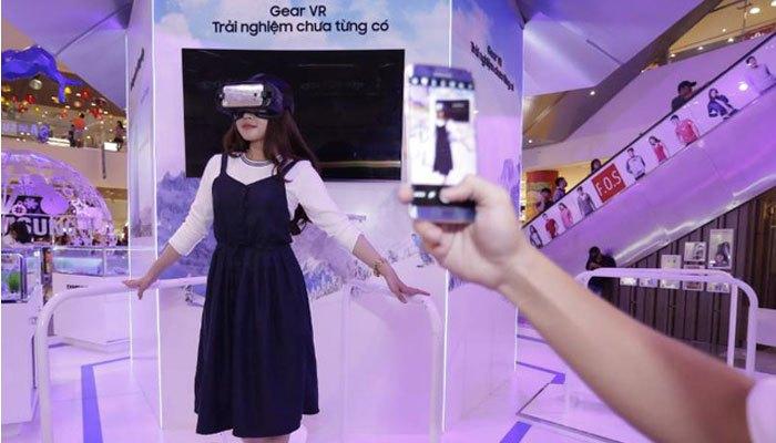 Trải nghiệm công nghệ thực tế của Samsung tại Sài Gòn