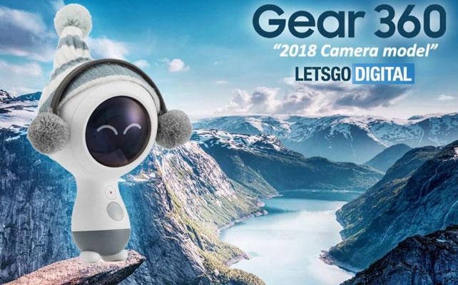"""Samsung Gear 360 VR 2018 sẽ có bề ngoài trông """"cute"""" thế này"""
