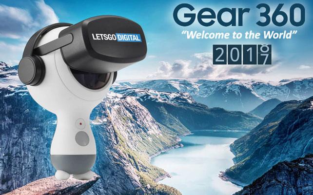 Camera Gear 360 VR 2018 được cải tiến vượt bậc từ ngoại hình đến tính năng