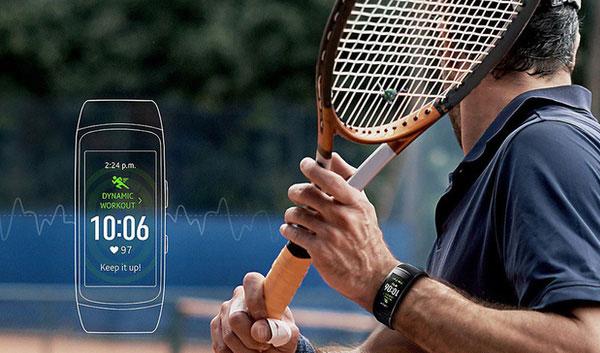 Gear Fit2 Pro với GPS tích hợp ghi nhận mọi thông tin nơi bạn luyện tập. GPS là tính năng khá hiếm thấy trên vòng đeo thông minh, chủ yếu được tích hợp cho đồ chuyên phượt