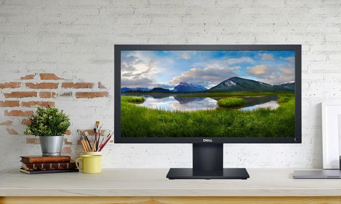 Màn hình Dell 21.5 inch E2220H - Tấm nền LED, hiển thị màu sắc trung thực