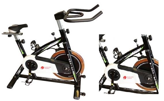 Máy tập xe đạp Buheung MK-218 thiết kế nhỏ gọn, chắc chắn