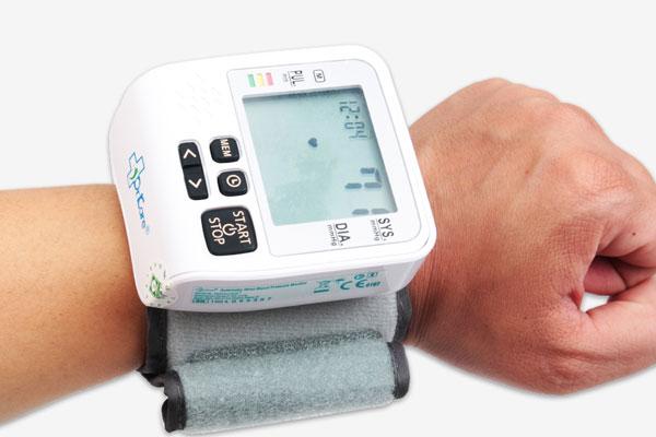 Chỉ số sẽ hiện ra trên màn hình của máy đo huyết áp