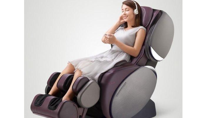 Bạn sẽ thật sự thư giãn khi chọn dùng ghế massage