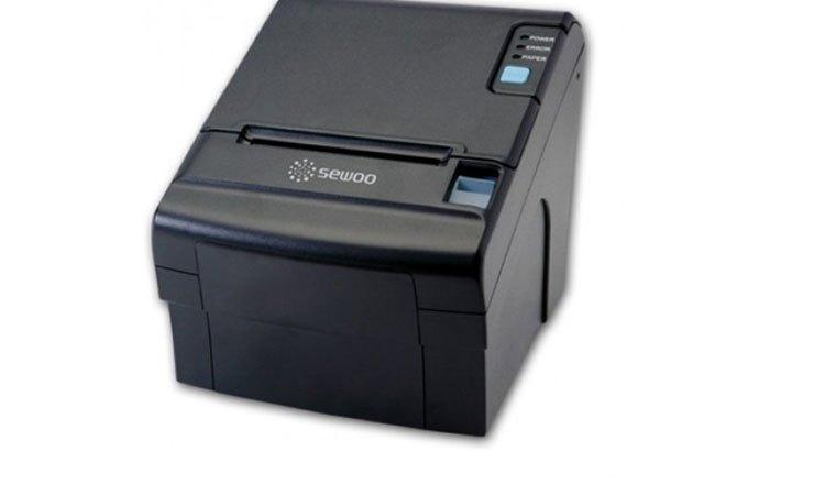 Máy in hóa đơn Sewoo T20EB thiết kế gọn gàng, tiết kiệm diện tích
