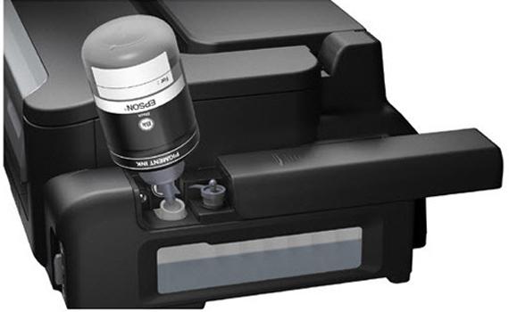 Máy in phun Epson M100 hệ thống bình mực chất lượng