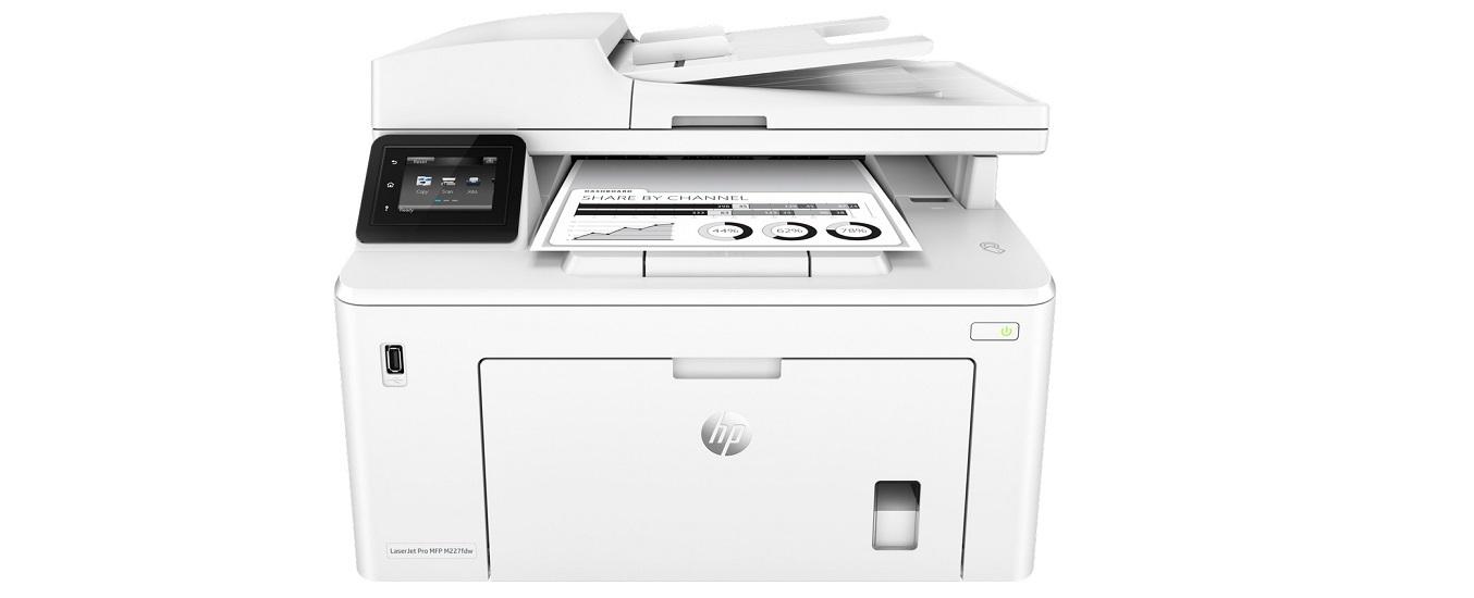 Máy in HP Laserjet Pro MFP M227FDW - Làm việc đa năng