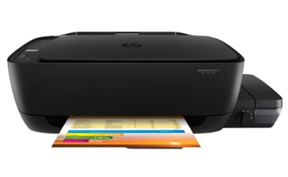 Máy in phun màu đa năng HP Deskjet GT 5810 (L9U63A) in rõ ràng