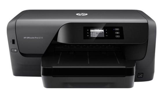 Máy in phun màu HP Officejet Pro 8210 - D9L63A trang bị màn hình LCD