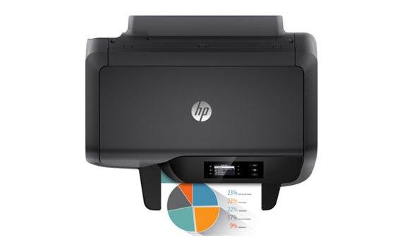 Máy in phun màu HP Officejet Pro 8210 - D9L63A với tốc độ in nhanh chóng