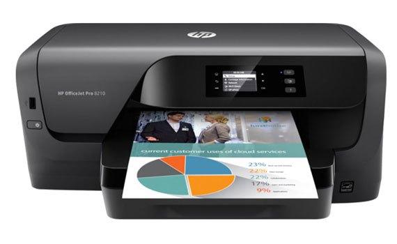 Máy in phun màu HP Officejet Pro 8210 - D9L63A có độ phân giải cao