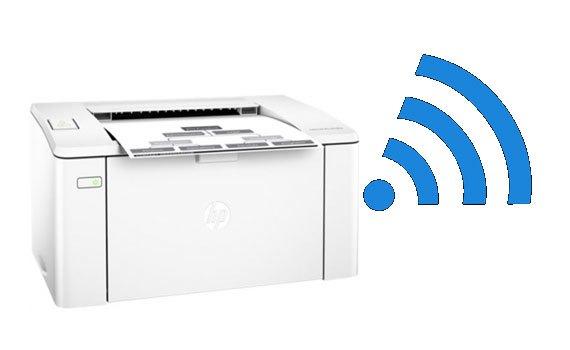 Máy in Laser đơn năng HP M102W-G3Q35A với khay giấy 150 tờ