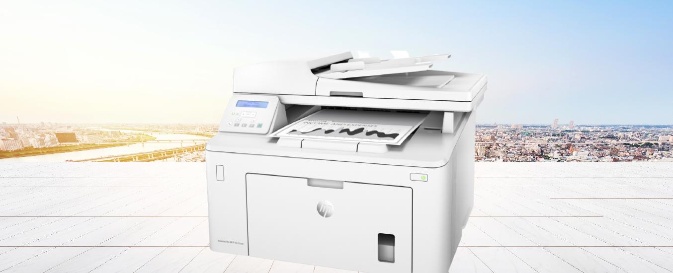 Máy in HP Laserjet Pro MFP M227SDN-G3Q74A - Thiết kế nhỏ gọn, dễ dàng đặt trên bàn làm việc
