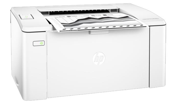 Máy in Laser đơn năng HP M102W-G3Q35A thiết kế gam trắng