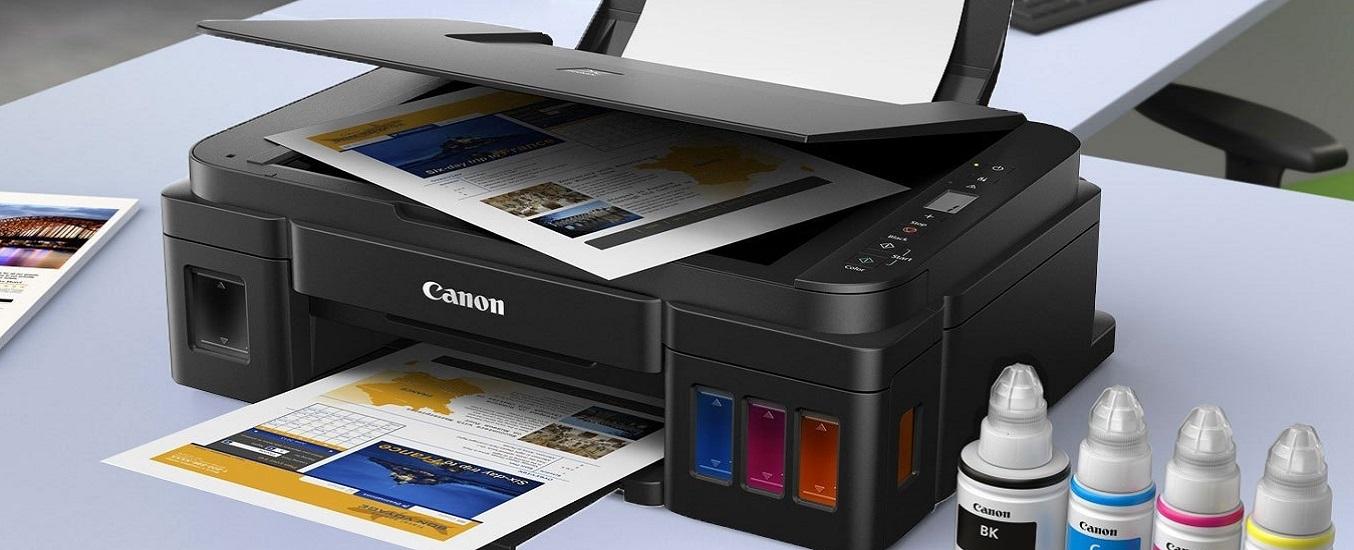 Máy in phun màu đa năng Canon Pixma G2010 - đa chức năng