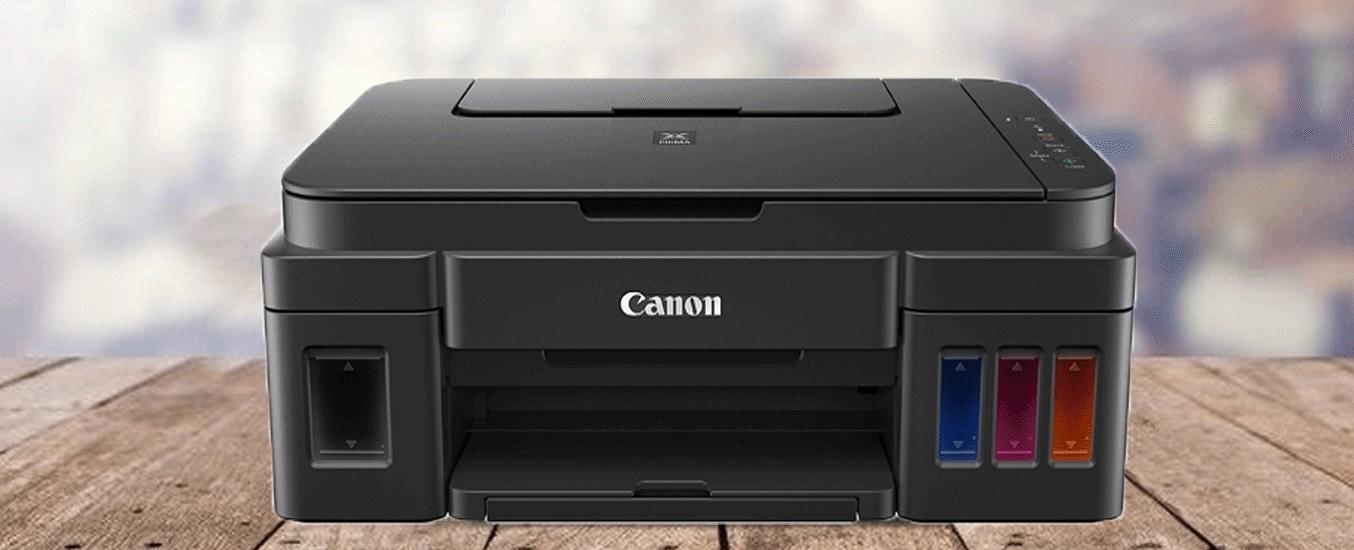 Máy in phun màu đa năng Canon Pixma G2010 - thiết kế nhỏ gọn
