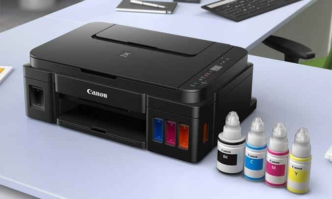 Máy in phun màu Canon Pixma G3010 - Bình mực tích hợp