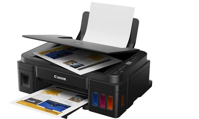 Máy in phun màu Canon Pixma G3010 - in tiện lợi