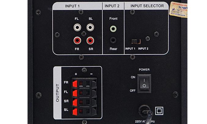 Loa vi tính Soundmax A8900 nhiều cổng kết nối