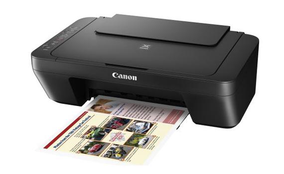 Máy in phun đa năng Canon Pixma E410 thiết kế nhỏ gọn