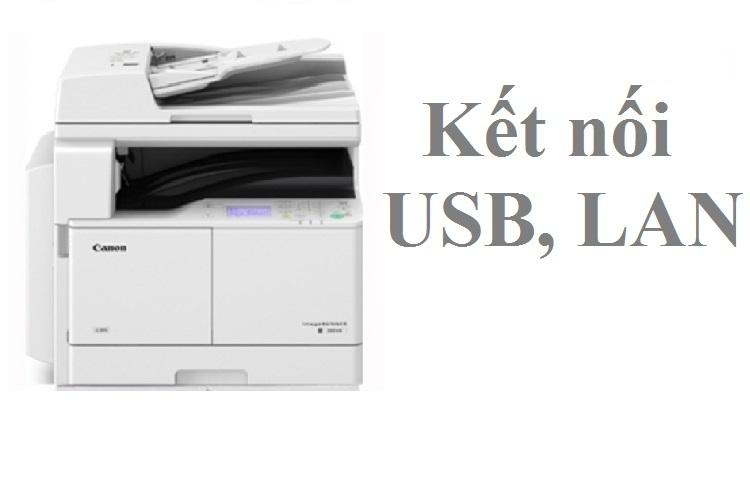 Máy photocopy Canon IR2004N 230V có kết nối USB, LAN, Wifi