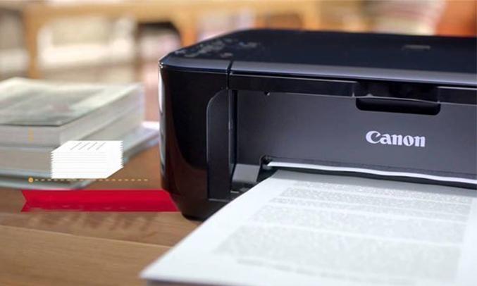 Máy in phun Canon Pimax E560 kết nối không dây