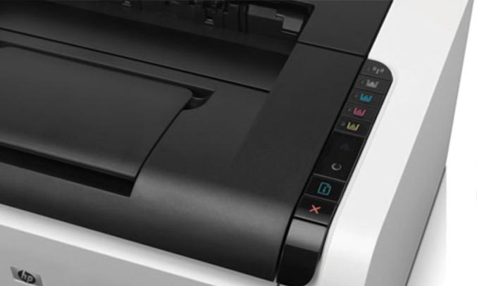 máy in laser HP LaserJet Pro CP1025 hiện đại