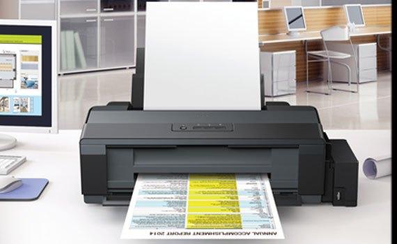 Máy in phun Epson L1300 cho chất lượng bản in sắc nét