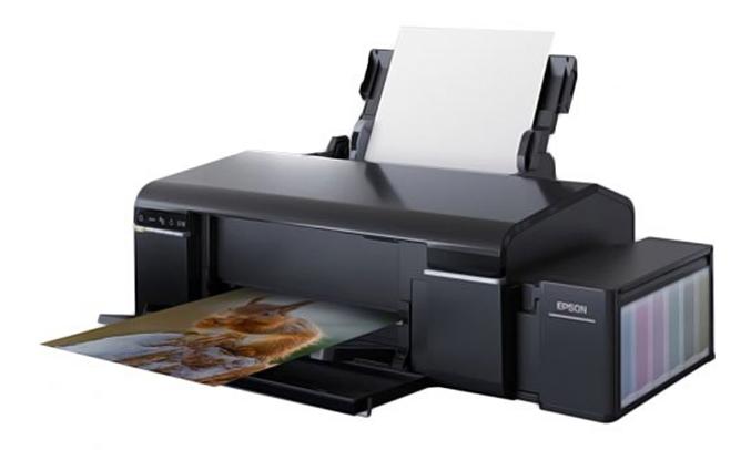 Máy in phun màu Epson L805 dễ sử dụng