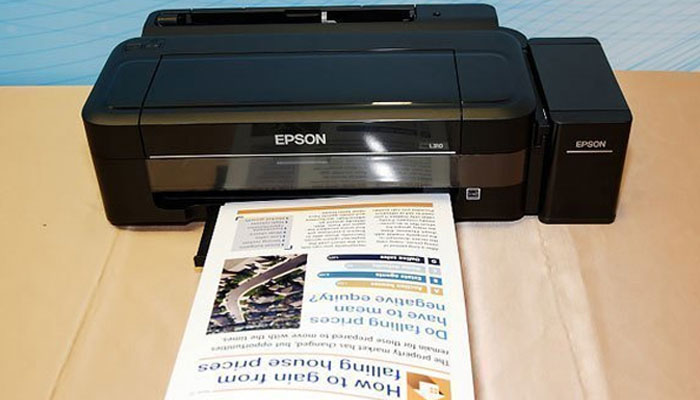 Tốc độ in nhanh chóng của Epson L310 giúp tiết kiệm thời gian tối ưu cho bạn