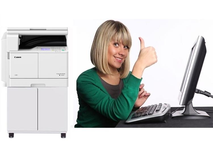 Máy photocopy Canon IR2400 230V giúp tiết kiệm mực và năng lượng