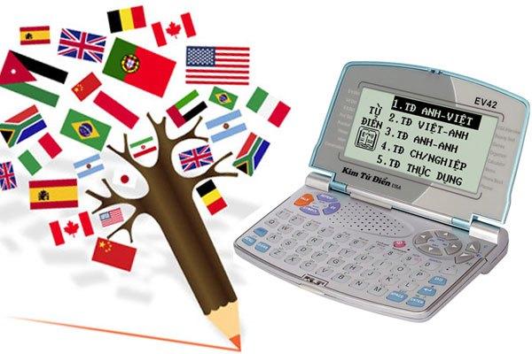 kim từ điển EV42 đa dạng ngôn ngữ