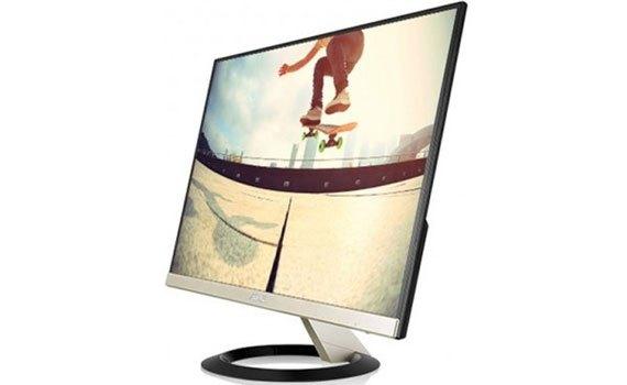 Màn hình máy tínah Asus 21.5 inch VZ229H BK thiết kế màn hình không viền tinh tế