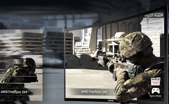 Màn hình vi tính Samsung LC24F390FHEXXV cho thời gian đáp ứng nhanh chóng