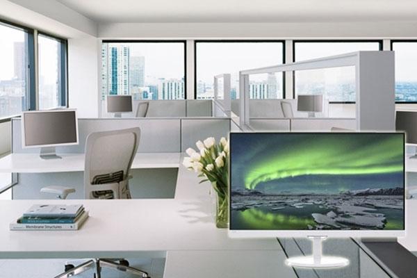 Cảm xúc làm việc của bạn sẽ tăng cao nếu những thiết bị hỗ trợ có phần nhìn đầy tính thẩm mỹ như màn hình vi tính Philips 257E7QDSW