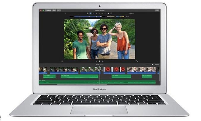 Macbook Air 13.3 inch 2017 (MQD32SA/A) hiển thị màu sắc chân thật