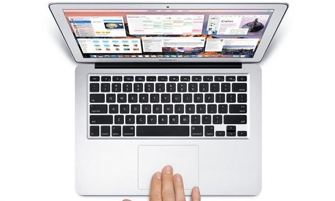 Macbook Air 13.3 inch 2017 (MQD32SA/A) có trackpad siêu nhạy