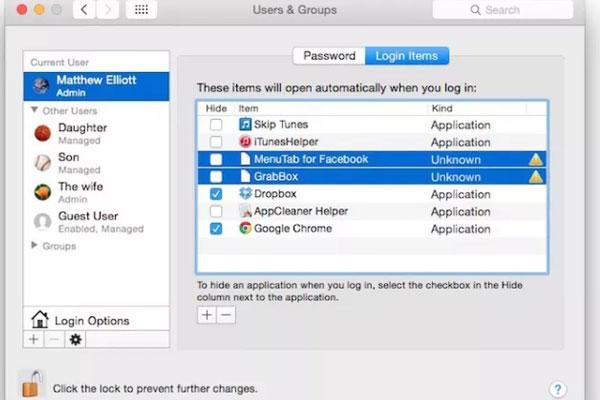 """Xử lý các ứng dụng mặc định chạy khi khởi động máy sẽ giúp MacBook """"dễ thở"""" hơn khi hoạt động"""