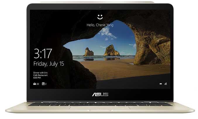 Laptop AsusZenbook Flip 14 UX461UA - E1127T chạy hệ điều hành window 10