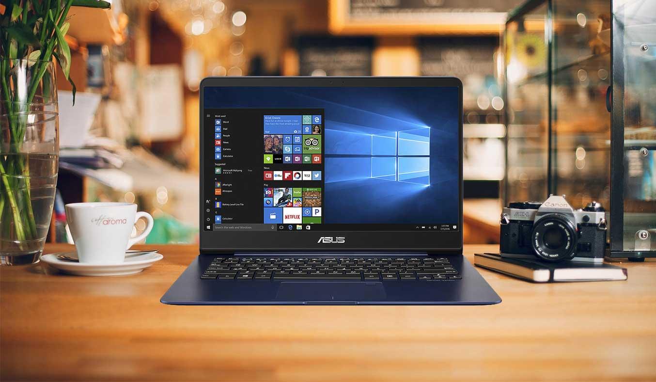 Máy tính xách tay Asus Zenbook UX430UA có thiết kế sang trọng, độc đáo