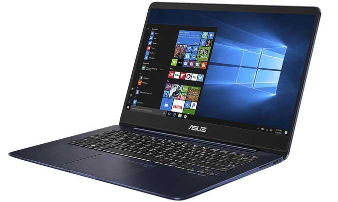 Máy tính xách tay Asus Zenbook UX430UA sở hữu chíp xử lý Intel Core i5