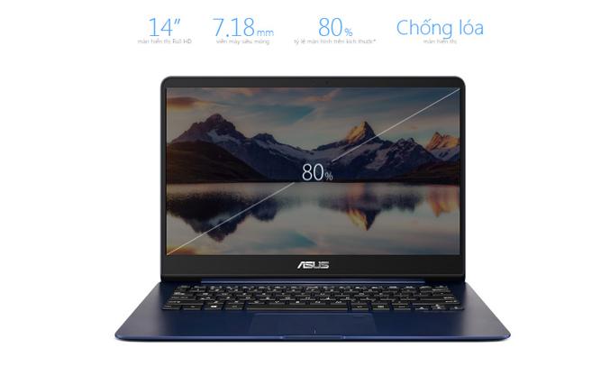 Laptop Asus Zenbook UX430UA-GV340T màn hình 14 inch Full HD