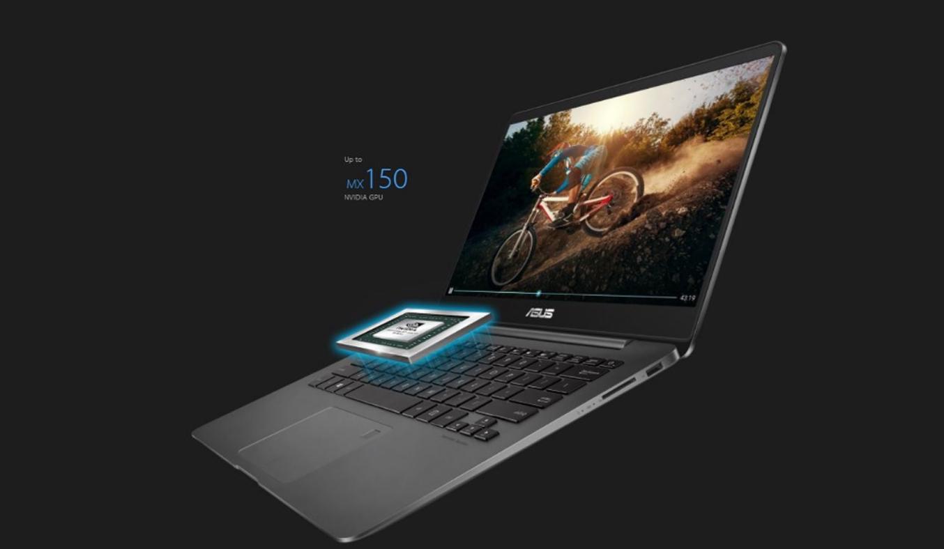 Laptop Asus Zenbook UX430UN-GV096T dễ dàng di chuyển