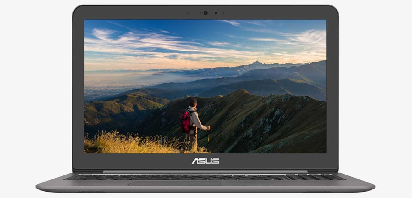 Máy tính xách tay (NB) Asus UX510U được trang bị bộ vi xử lý Intel core i5-7200U tốc độ 2.5GHz