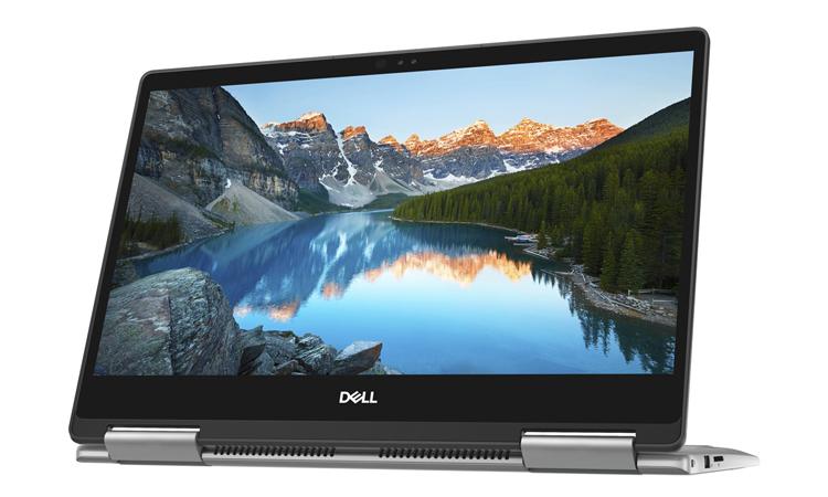 Laptop Dell Inspiron 13 7373 (C3TI501OW) sử dụng core i5, RAM 8GB