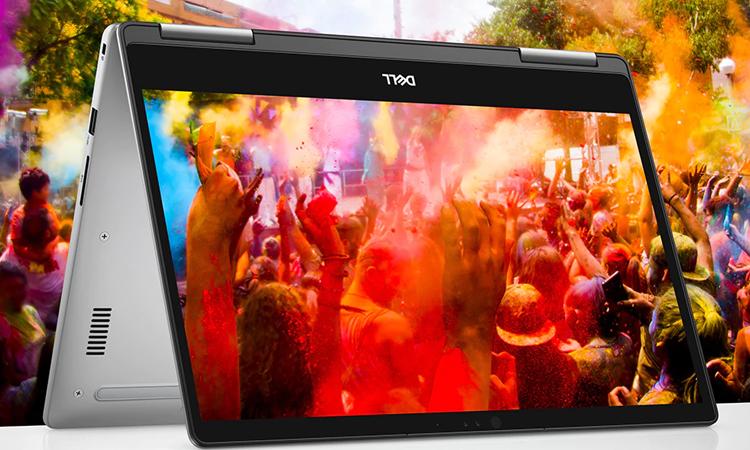 Laptop Dell Inspiron 13 7373 (C3TI501OW) có bản lề 360 độ