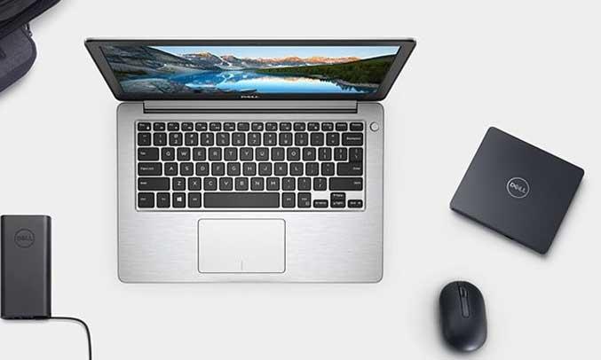 Laptop Dell thiết kế sang trọng, đẹp mắt