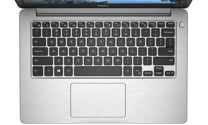 Bàn phím của laptop chắc chắn giúp thao tác chính xác