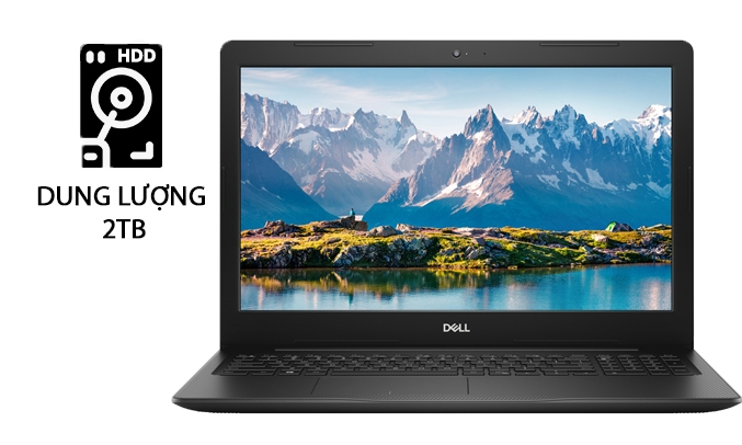 """Laptop Dell Inspiron 3580 - Core i7 - 8GB - 15.6"""" dung lượng lưu trữ 2TB"""